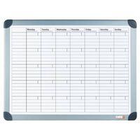 DESQ Planificateur mensuel magnétique 60x90 cm Blanc