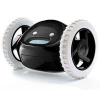 Clocky Réveil sur roues Noir