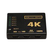 Commutateur HDMI 5x1 - 4K2K / 3D avec télécommande