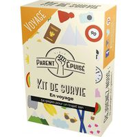 Parent Epuise Kit De Survie Voyage
