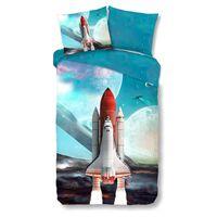 Good Morning Housse de couette pour enfants Space Shuttle 135x200 cm