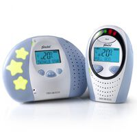 Alecto DECT Interphone bébé DBX-88 ECO Blanc et bleu