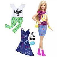 Barbie Poupée Fashionistas Peace & Love