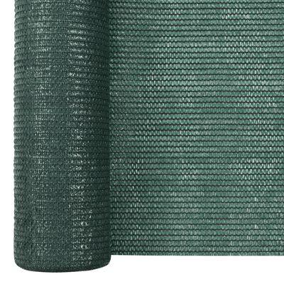 vidaXL Filet brise-vue Vert 1,5x50 m PEHD 195 g/m²