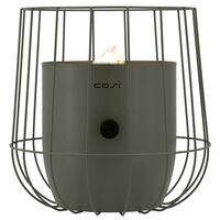 Cosi Lanterne à gaz Cosiscoop Basket Vert olive