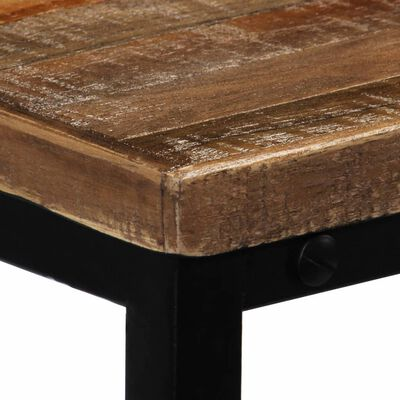 vidaXL Table console Teck recyclé massif 90 x 30 x 76 cm