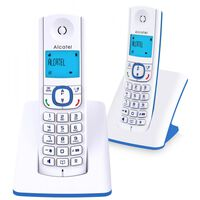 Téléphone fixe ALCATEL F 530 DUO BLEU
