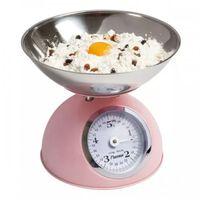 Bestron Balance de cuisine vintage 5 kg - rose
