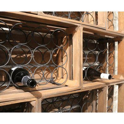 Casier bois 12 bouteilles - BACCHUS