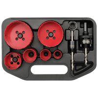 YATO Kit de 9 pièces pour scie cloche d'électricien YT-3380
