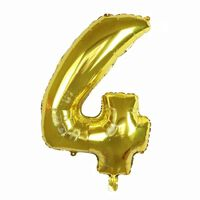 Ballon 53 cm, numéro 4 - or