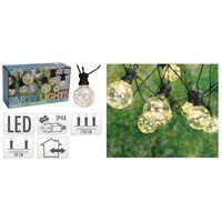 ProGarden Ensemble d'éclairage à LED de fête de jardin 80 micro LED