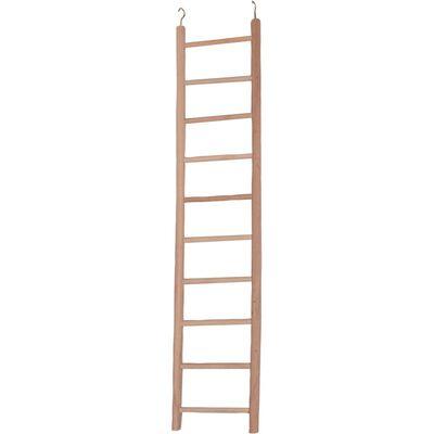 Echelle perroquet bois escada 10 echelons