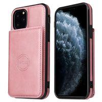 Coque / Coque iPhone 12 Pro avec porte-cartes Or rose