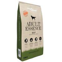 vidaXL Nourriture sèche pour chiens Adult Essence Beef 15 kg