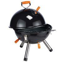 HI Mini Charcoal Kettle Grill BBQ Black