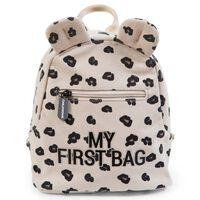 CHILDHOME Sac à dos pour enfants My First Bag Toile Léopard