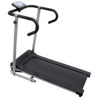 """vidaXL Tapis roulant électrique 100 x 34 cm avec écran LCD de 3"""" 500 W"""
