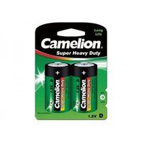 Pack de 2 piles Camelion Super Heavy Duty R20/D