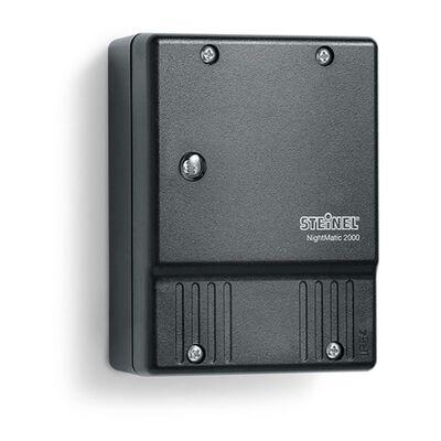 Steinel Interrupteur crépusculaire NightMatic 2000 Noir