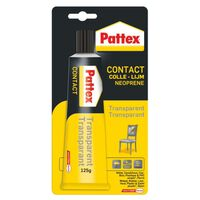 Colle Pattex - Contact Transparent 125g