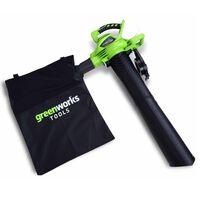 Greenworks Souffleur / aspirateur sans batterie 40 V GD40BV 24227