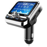 Émetteur FM Bluetooth et chargeur de voiture avec double USB 2.4V