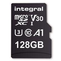 Carte micro SDHC/XC INTEGRAL INMSDX 128 G-100/90 V 30