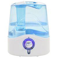 vidaXL Humidificateur à ultrasons avec brume et veilleuse 6 L 300 ml/h