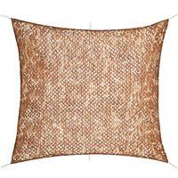 vidaXL Filet de camouflage avec sac de rangement 6 x 6 m