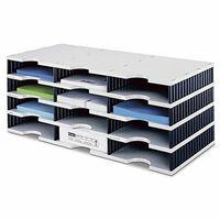 Styrodoc 268030498 Module de rangement Trio à 12 compartiments 723 x