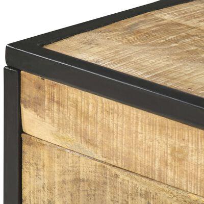 vidaXL Table basse 70x50x33 cm Bois de manguier massif