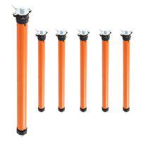 vidaXL Moteurs tubulaires 6 pcs 10 Nm