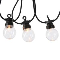 Guirlande LED 20 ampoules blanches