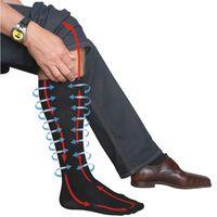 Chaussettes de compression de voyage Travelsafe TS0370M 39-42