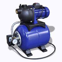 vidaXL Pompe électrique de jardin 1200W Bleu