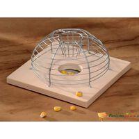 Trappe à souris et rongeur monocapture en plastique et métal