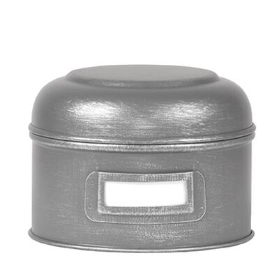 LABEL51 Boîte de rangement 13x13x10 cm S Gris antique
