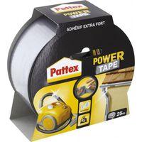 Adhésif super-puissant Power Tape de PATTEX - 25 m - Gris