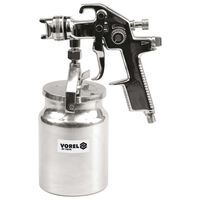 VOREL Pistolet de pulvérisation HVLP avec godet à liquide 1000 ml