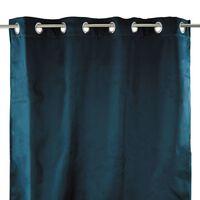 THERMIQUE - Rideau thermique bleu 140x250