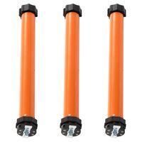 vidaXL Moteurs tubulaires 3 pcs 10 Nm