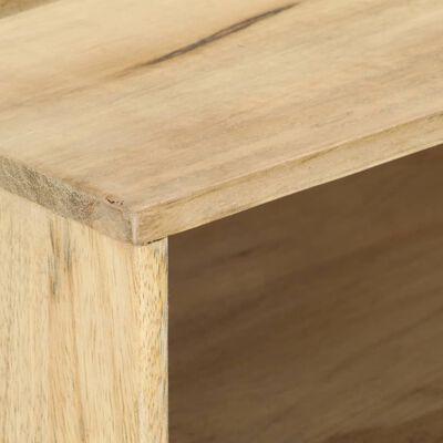 vidaXL Table basse 95x50x42 cm Bois de manguier massif