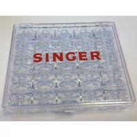 Singer Boîtier de rangement de canette avec 25 canettes
