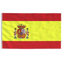vidaXL Drapeau Espagne 90x150 cm