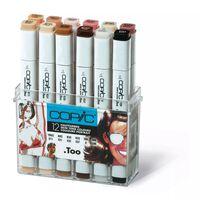 Set 12 marqueurs Manga Copic Marker Portrait - Copic