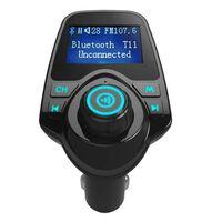 Adaptateur mains libres Bluetooth pour voitures avec lecteur MP3