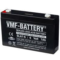 Batterie AGM VMF de veille et cyclique 6 V 7 Ah SLA7-6