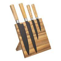Set De Couteaux Avec Bloc De Couteaux Magnétique - Set De Couteaux 4