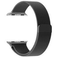 Bracelet pour Apple Watch 1/2/3 milanaise 38 mm - noir